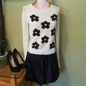 Other - Outfit!!! Sweater/mini skirt/Pumps.