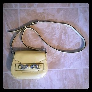 Rebecca Minkoff Handbags - NWOT Rebecca Minkoff Yellow Mini Tote Crossbag