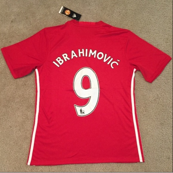 huge selection of 1e91d 12b81 2016/2017 IBRAHIMOVIC Manchester United Jersey NWT