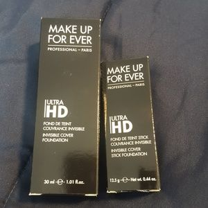 Makeup Forever Other - Make Up Forever UltraHD stick & liquid foundations