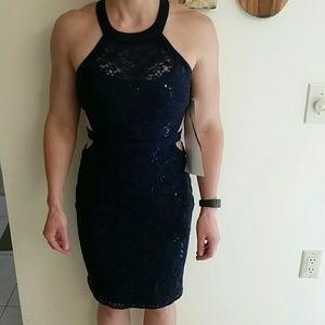 Morgan & Co. Dresses & Skirts - NWT Morgan & Co Lace Cutout Party Dress