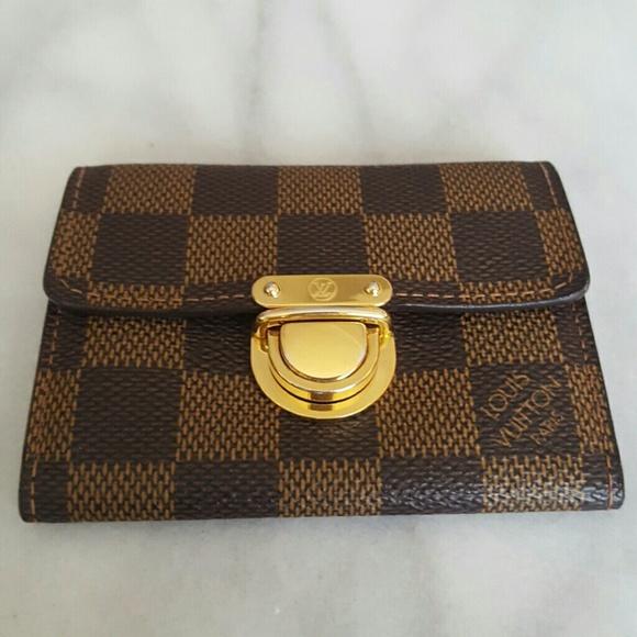 4066c1aceead Louis Vuitton Accessories - Louis Vuitton Damier Canvas Koala Card Holder
