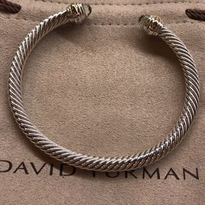 David Yurman Jewelry - David Yurman Prasiolite Cable Bracelet - LG tips!