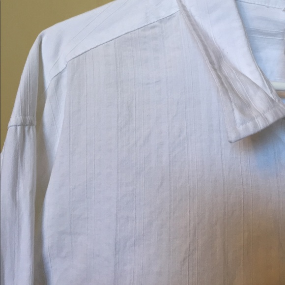 71 Off Other Men 39 S White Long Sleeve Casual Button Down