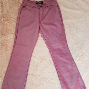 Tyte Jeans Women's Size 7 Pink Flare Jeans