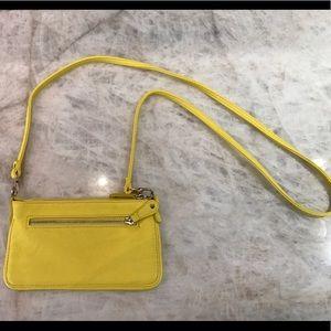 Danielle Nicole Handbags - Danielle Nicole NY Bright Yellow Mini Purse