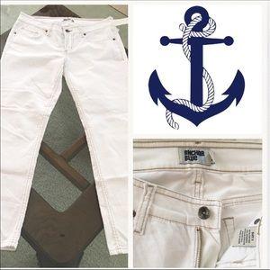 Anchor Blue Pants - Curvy short Boot cut petite Anchor Blue