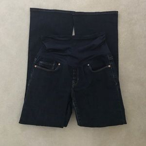 GAP Denim - Gap maternity boot cut denim jeans