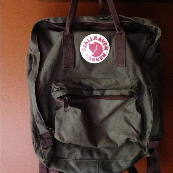 7f10f2c95 Fjallraven Handbags - Fjallraven Kanken backpack - original size