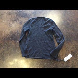 GentryPortofino Other - GentryPortofino gray 2-3 ply cashmere v neck 38/48