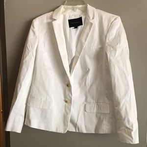 White banana republic blazer