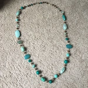 Jewelry - LONG BLUE NECKLACE
