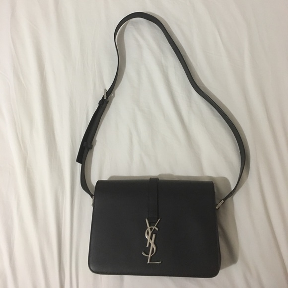 💯Authentic Medium YSL universite silver hardware.  M 5927bddaeaf03042c90541e9. Other Bags you may like. Saint Laurent Large  Loulou Grey Leather Handbag e8ad05a93f