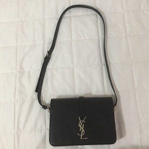 Saint Laurent Handbags - 💯Authentic Medium YSL universite silver hardware