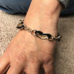 Jewelry - BLACK HEART BRACELET