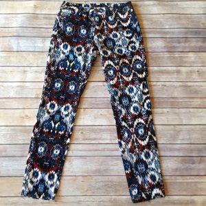 SALE❤️Zara Basic small corduroy printed crop pants
