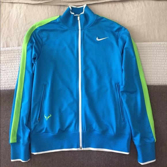 Nike Jackets Coats New Rafael Nadal Mens Tennis Jacket Poshmark