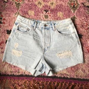 H&M Pants - H&M Jean Cutoff Distressed Shorts
