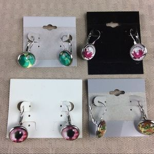 Jewelry - New 4 Pairs of Earrings