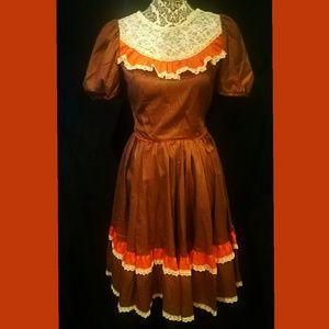 Vintage 60's Rockmount Ranch Wear Dress