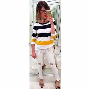 COS Tops - ➡COS Colorblock Striped Top⬅