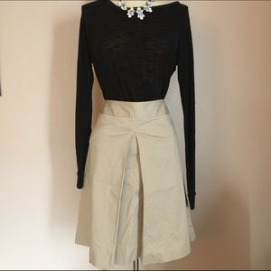 Kenar Dresses & Skirts - Kenar Khaki A-Line Skirt Career Wear Size 4