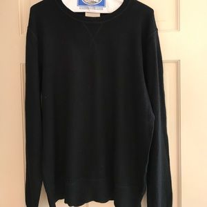 Life After Denim Other - Life After Denim Black Cotton/Cashmere Sweater L