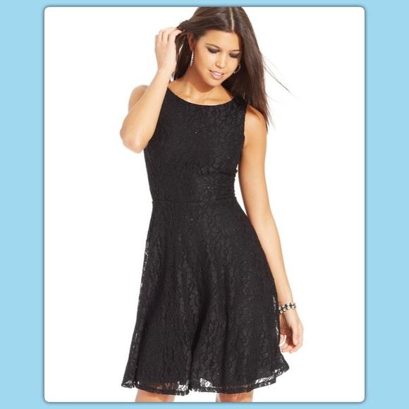 3f3dc5a8b Speechless Dresses   Juniors Glittered Lace Dress   Poshmark