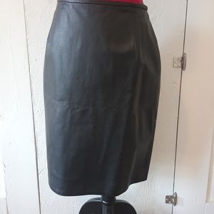 Vera Pelle Dresses & Skirts - Real leather skirt