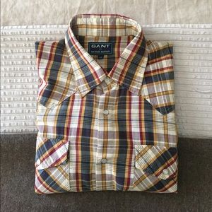 Michael Bastian Other - GANT x Michael Bastian. Men's plaid western shirt