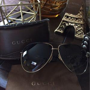 Gucci GG 4425/S Women Aviator Sunglasses