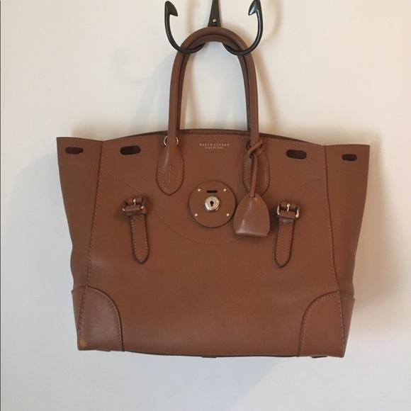 0272ba11e5 Ralph Lauren Nappa Leather Soft Ricky 33 Bag. M 5918b621522b4519c50ee5e7