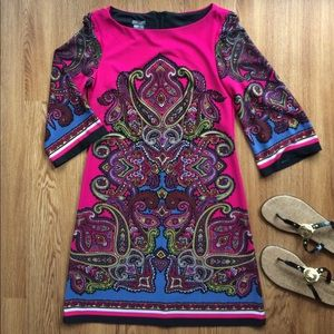 Muse Dresses & Skirts - Muse dress psychedelic knit paisley 6
