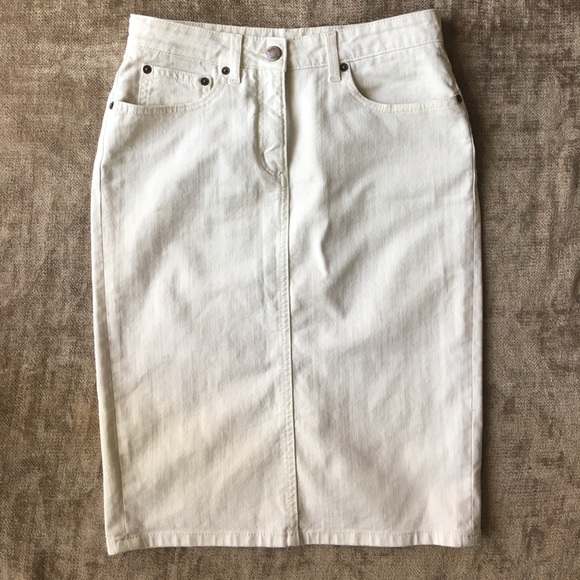 80 boden dresses skirts boden white jean denim