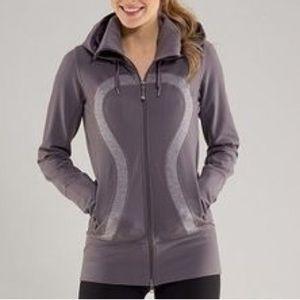 lululemon athletica Jackets & Blazers - Lululemon Stride Jacket Gray/ Heathered Purple