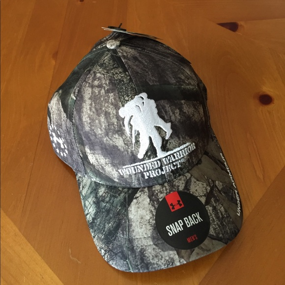 Under Armour Wounded Warrior Hat New 8ebbad748ad7