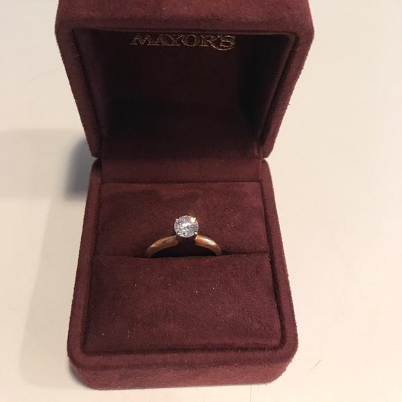 20 Off Mayor 39 S Jewelry Mayors 66 Carat Diamond Engagement Ring Gold B