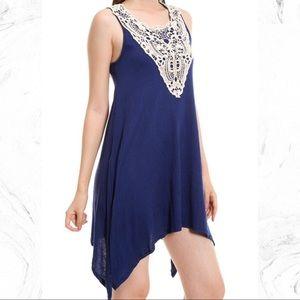 Peach Love California Dresses & Skirts - Crochet Detail Dress