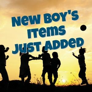 New boy's clothes just added!!