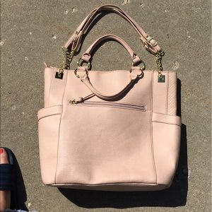 Olivia + Joy Handbags - Olivia + Joy Light Pink Tote