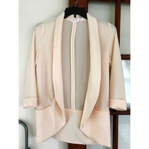 Lush Jackets & Blazers - Lush Crepe Blazer