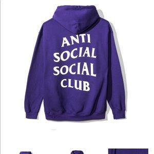 Anti Social Social Club Other - Anti social social club hoodie new