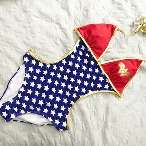 Wonder Woman Other - Wonder Woman one piece bathing suit