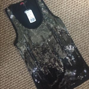 Forever 21 sequined tank size S/P NWT
