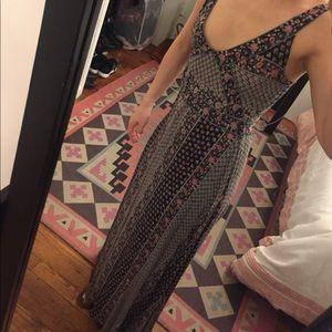 Pull&Bear Dresses & Skirts - Bohemian floral maxi dress
