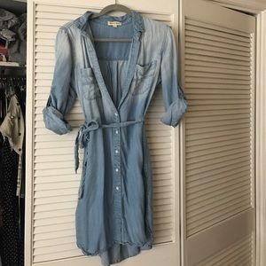 Denim Anthropology dress