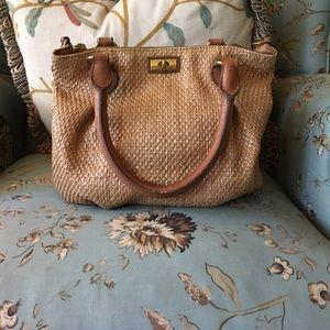 Rare J. Crew brompton woven purse!