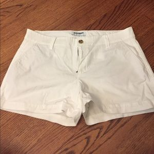 old navy Pants - Old Navy white shorts