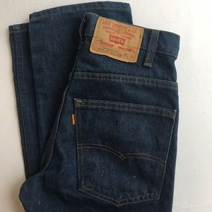 Levi's vintage jeans! Straight leg, high waisted.