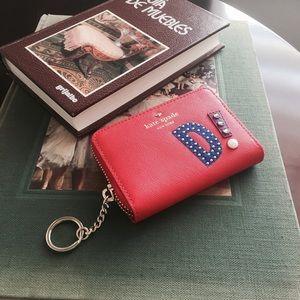 "Kate Spade ""D"" Wallet"
